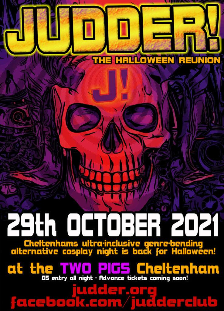 Judder poster for October 29th 2021